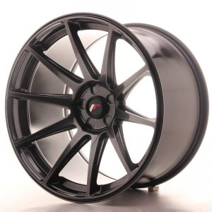 Japan Racing JR11 19x11 ET25 5H Blank Hiper Black