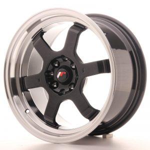Japan Racing JR12 16x8 ET15 4x100/114 Gloss Black