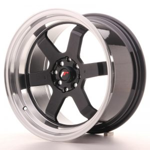 Japan Racing JR12 17x9 ET25 4x100/114 Gloss Black
