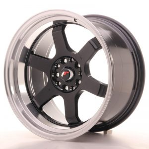 Japan Racing JR12 18x10 ET25 5x100/120 Gloss Black