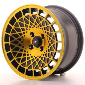 Japan Racing JR14 15x8 ET20 4x100 BlackGold Finish