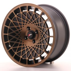 Japan Racing JR14 16x8 ET15 4x100 BlackBronzFinish