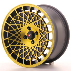 Japan Racing JR14 16x8 ET20 5x100 BlackGoldFinish