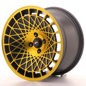 Japan Racing JR14 16x9 ET10 4x100 BlackGold Finish