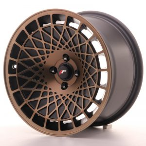 Japan Racing JR14 16x9 ET10-20 Blank BlackBronzFin