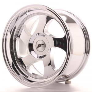 Japan Racing JR15 15x8 ET20 Blank Vacum Chrome