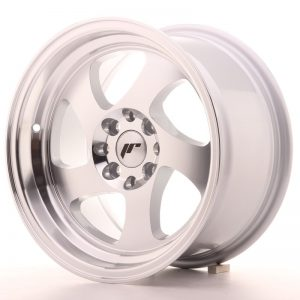 Japan Racing JR15 15x8 ET20 4x100/108 Machined Sil