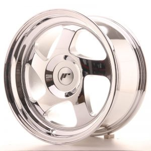 Japan Racing JR15 16x8 ET25 Blank Vacum Chrome