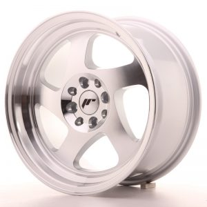 Japan Racing JR15 16x8 ET25 4x100/108 Machined Sil