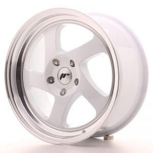 Japan Racing JR15 17x8 ET35 Blank White