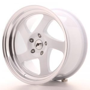Japan Racing JR15 17x9 ET25 Blank White
