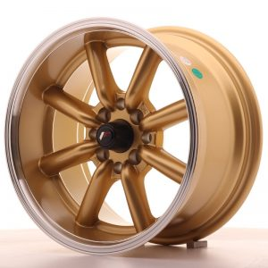 Japan Racing JR19 15x8 ET0 4x100/114 Gold