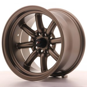 Japan Racing JR19 15x9 ET-13 4x100/108 Matt Bronze