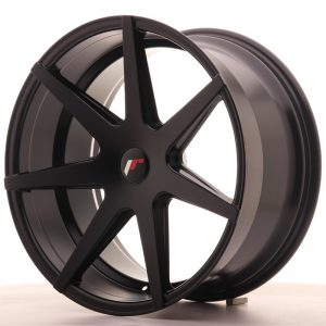 Japan Racing JR20 20x10 ET40 5H Blank Matt Black