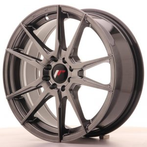 Japan Racing JR21 17x7 ET25 4x100/108 Hiper Black