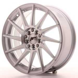 Japan Racing JR22 17x7 ET35 4x100/114 Silver Mach