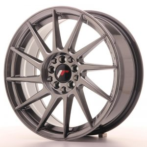 Japan Racing JR22 17x7 ET25 4x100/108 Hiper Black