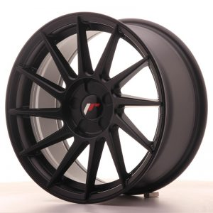 Japan Racing JR22 17x8 ET35 5H Blank Matt Black