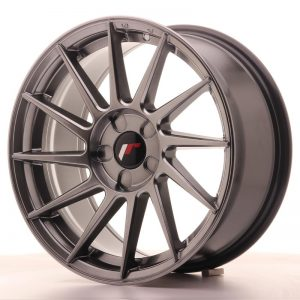 Japan Racing JR22 17x8 ET35 5H Blank Hiper Black
