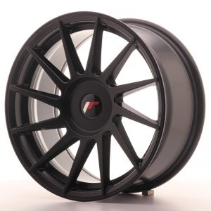 Japan Racing JR22 17x8 ET25-35 Blank Matt Black