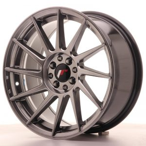 Japan Racing JR22 17x8 ET25 4x100/108 Hiper Black
