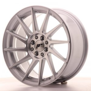 Japan Racing JR22 17x8 ET25 4x100/108 Silver Mach