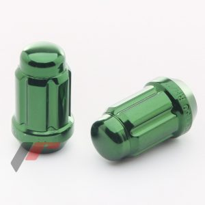Forged Steel Japan Racing Nuts JN2 12x1,5 Green.