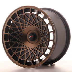 Japan Racing JR14 16x9 ET20 5x100 BlackBronzFinish