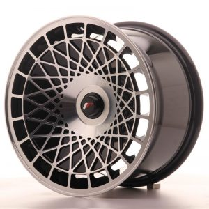 Japan Racing JR14 16x9 ET10-20 Blank Black Machine