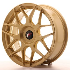 Japan Racing JR18 17x7 ET20-40 Blank Gold