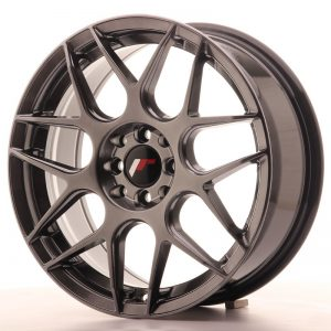 Japan Racing JR18 17x7 ET40 4x100/108 Hiper Black