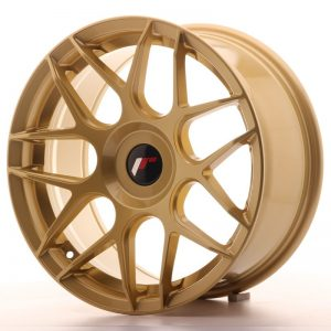 Japan Racing JR18 17x8 ET35 Blank Gold