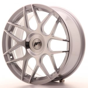 Japan Racing JR18 18x7,5 ET25-40 Blank Silver Mach