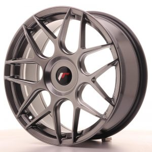 Japan Racing JR18 18x7,5 ET35-40 Blank Hiper Blac