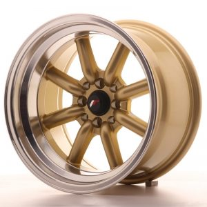 Japan Racing JR19 16x9 ET-15 4x100/114 Gold