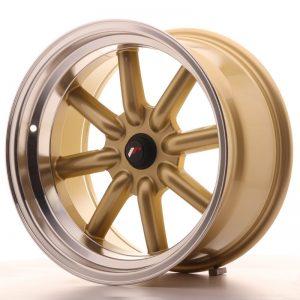 Japan Racing JR19 17x9 ET-10 BLANK Gold