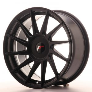 Japan Racing JR22 17x8 ET35 Blank Matt Black