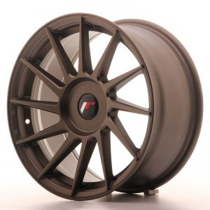 Japan Racing JR22 17x8 ET35 Blank Matt Bronze