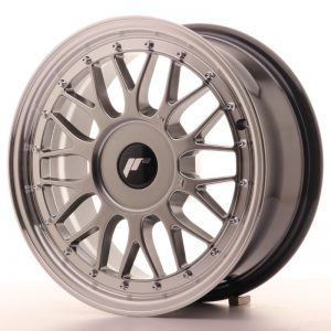 Japan Racing JR23 16x7 ET20-45 Blank Hiper Black