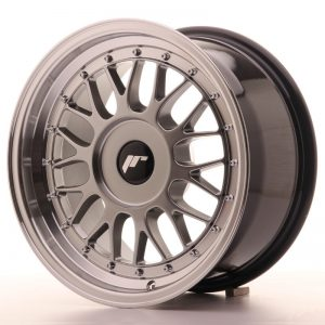 Japan Racing JR23 16x8 ET20-45 Blank Hiper Black