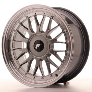 Japan Racing JR23 17x8 ET20-45 Blank Hiper Bl