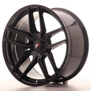 Japan Racing JR25 20x10 ET40 5H Blank Glossy Black
