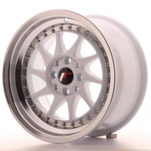 Japan Racing JR26 15x8 ET25 4x100/108 White
