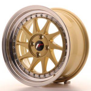 Japan Racing JR26 16x8 ET30 4x100 Gold