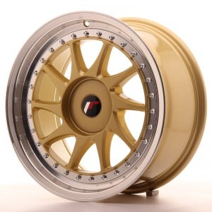 Japan Racing JR26 17x8 ET20-35 Blank Gold