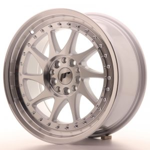 Japan Racing JR26 17x8 ET20 4x100/108 Machined Sil