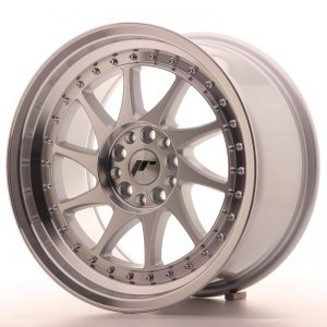 Japan Racing JR26 17x9 ET35 5x108/112 Machined Sil