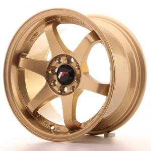 Japan Racing JR3 15x8 ET25 4x100/114 Gold