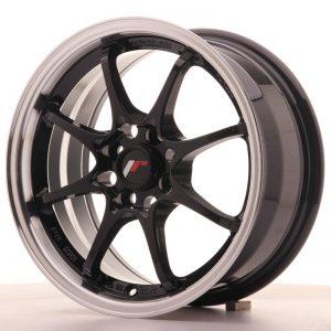 Japan Racing JR5 15x7 ET35 4x100 Gloss Black