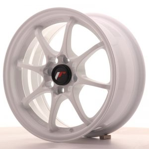 Japan Racing JR5 15x7 ET35 4x100 White